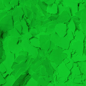 Neon Green Decorative Color Chip Flakes Item # PA8200
