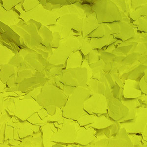 Neon Yellow Decorative Color Chip Flakes Item # PA8400