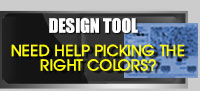 Design Tool For Picking Color Chip Flakes