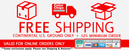 Free Shipping in the Continental United States