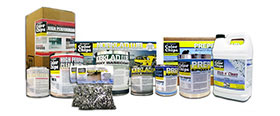 System 2 - deluxe epoxy floor coating kit for garages