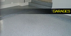 Garage floor coating example