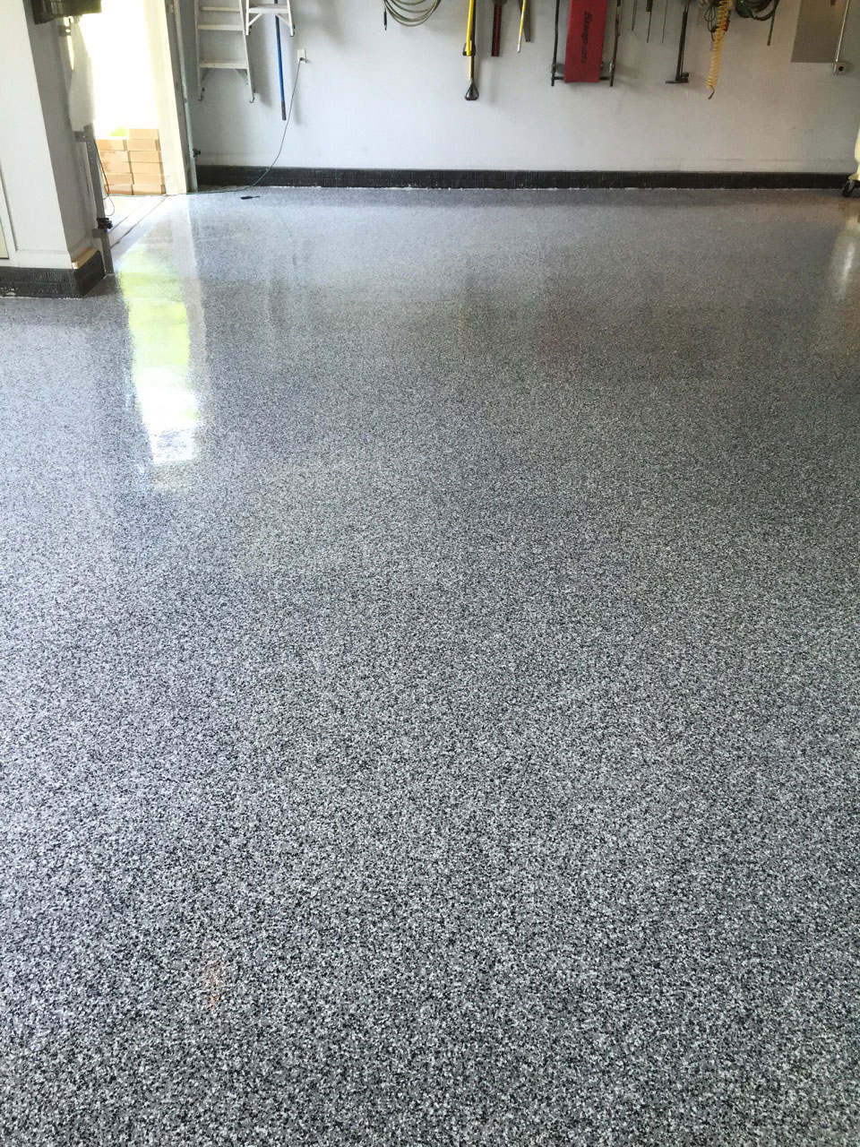 Garage Floor Coating Photo Gallery