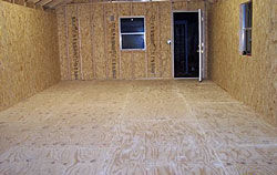 Wood Subfloor - Before