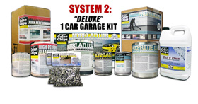 Product price list for epoxy floor coating paint kits deluxe 1 car garage epoxy paint sciox Gallery