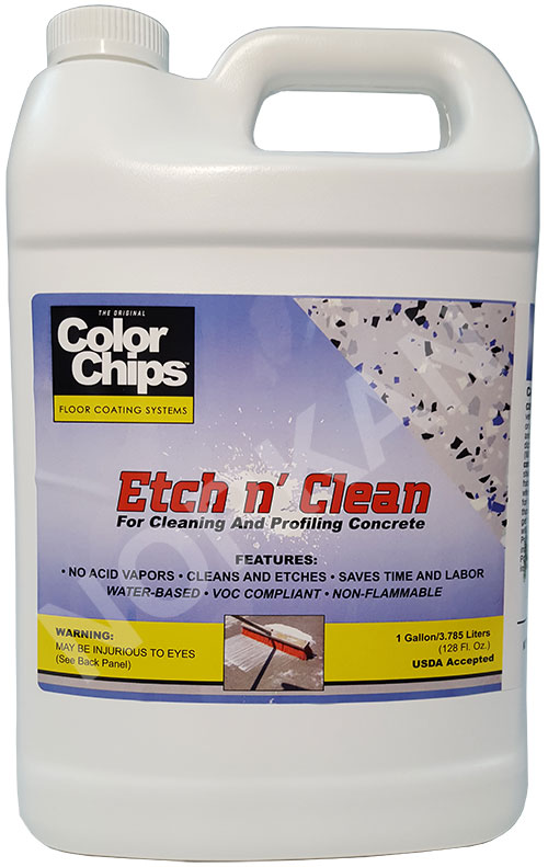 Product price list for epoxy floor coating paint kits for Concrete floor cleaning products