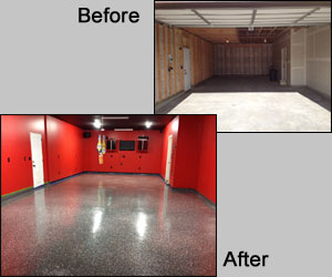 Before & After Garage Photos