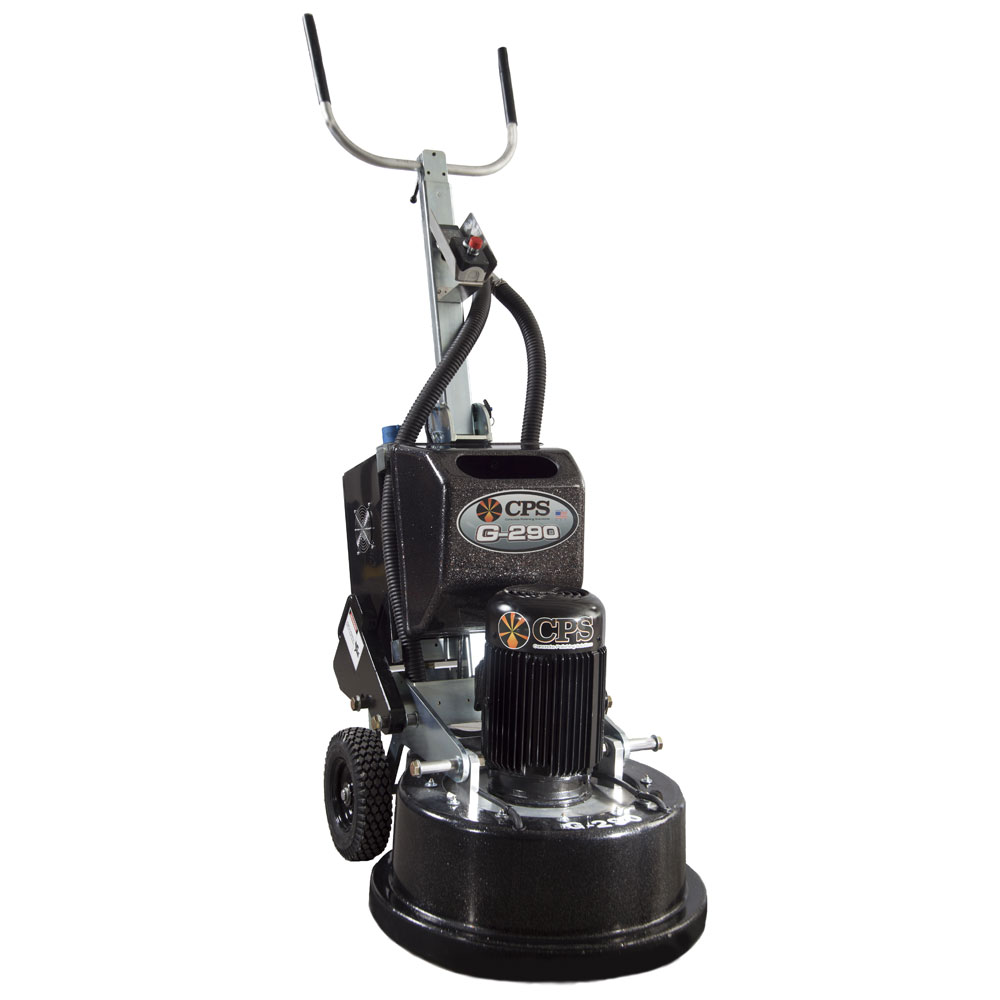 CPS G-290 Concrete Floor Grinder and Polisher - Electric