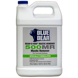 Blue Bear 500MR Mastic and Adhesive Remover- Bean e doo 1g