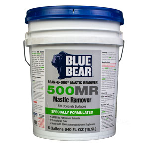 Blue Bear 500MR Mastic and Adhesive Remover- Bean e doo 5g