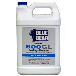 Blue Bear 600GL Epoxy Remover - Paint Stripper - Soy Gel 1g