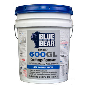 Blue Bear 600GL Epoxy Remover - Paint Stripper - Soy Gel 5g