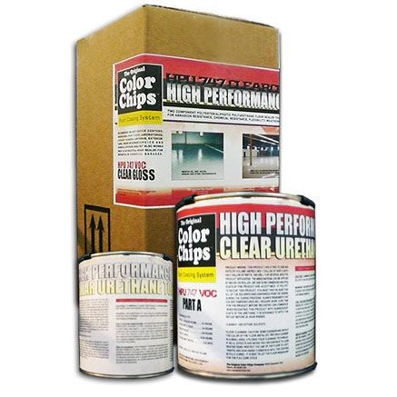 Color Chips HPU 747 VOC High Performance Clear Urethane Kit .75 gal