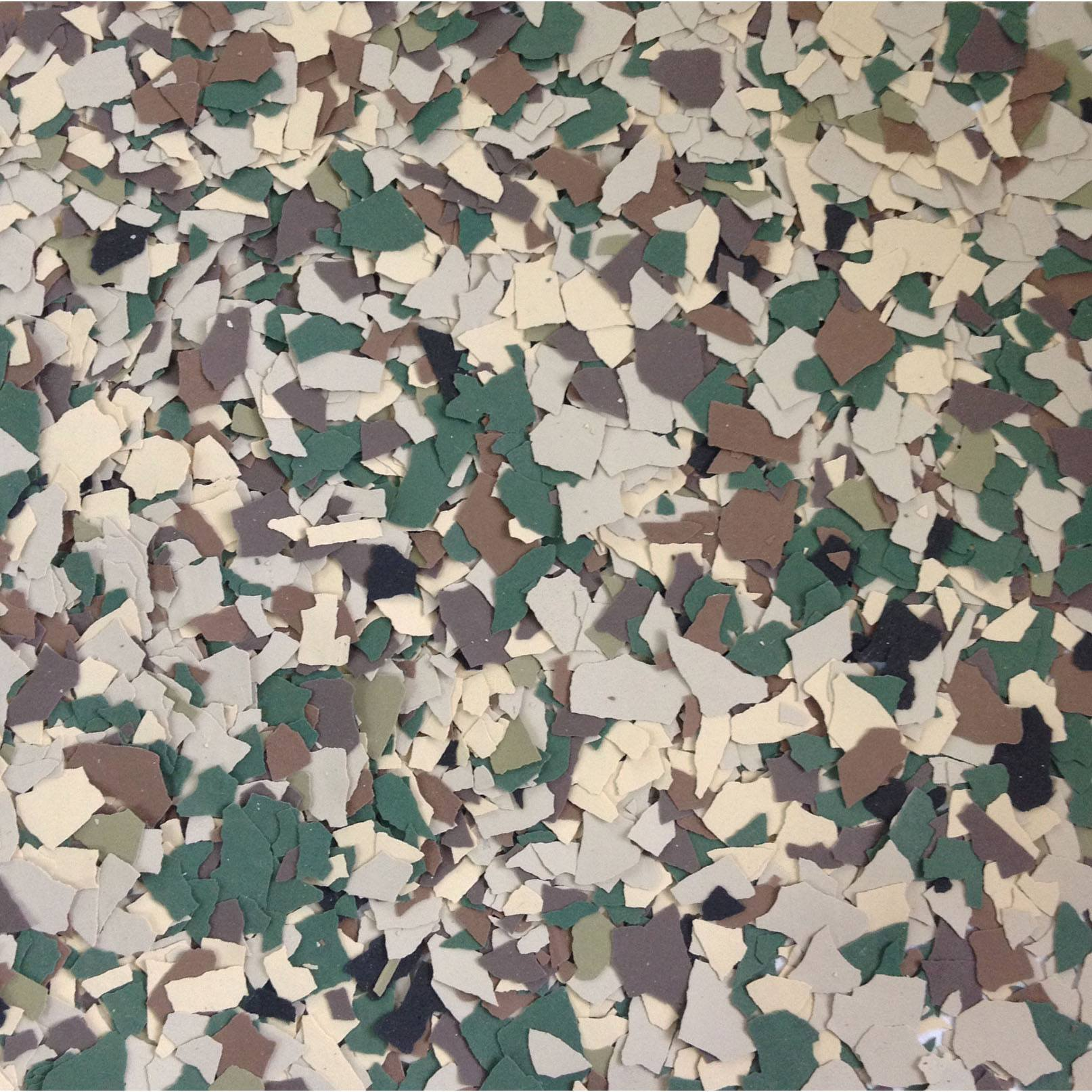 Color Chips / New Camouflage Blend