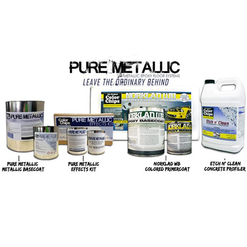 Pure Metallic 1000 sq/ft Complete Kit