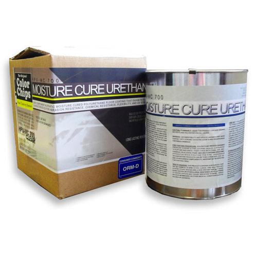 HPU-MC 700 - Moisture Cure Urethane - Color Chips - 500+ sq/ft