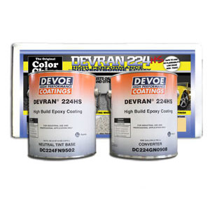 Devoe Devran 224V High Build Epoxy Coating Solventborne (+450 sq ft)