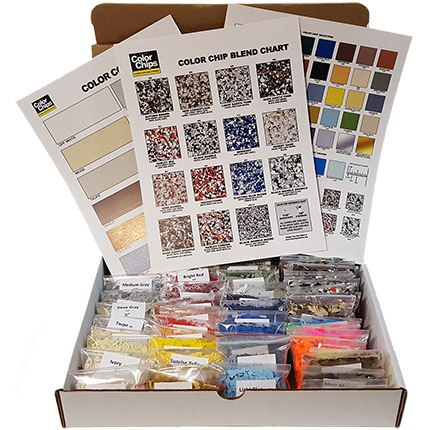 The Original Color Chips Sample Box (chips, blends)